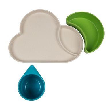 Tum Tum - Eco Zestaw Obiadowy Chmurka Blue