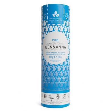 Ben and Anna - Naturalny Dezodorant na Bazie Sody Pure w Sztyfcie Kartonowym