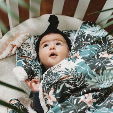 La Millou - Podusia do Wózka Sleepy Pig Blooming Boutique Papaya