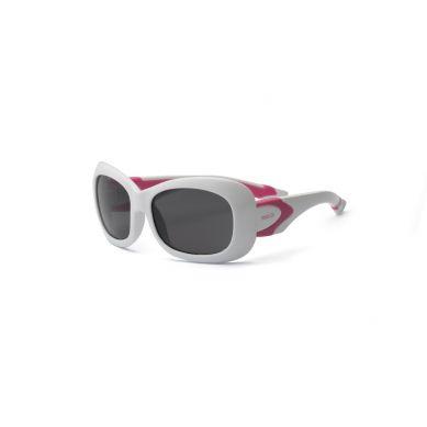 Real Kids - Okularki dla Dzieci Breeze Polarized White and Hot Pink 7+