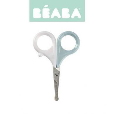 Beaba - Nożyczki do Paznokci w Etui Green Blue