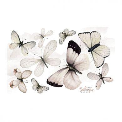 Dekornik - Zestaw Naklejek Ściennych Butterfly Dance S