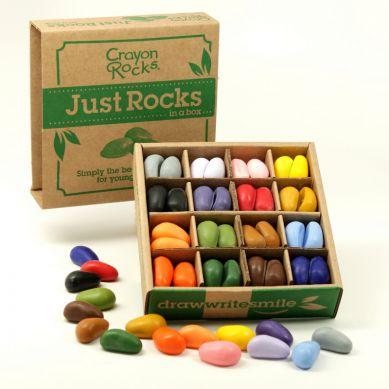 Crayon Rocks - Kredki 64 sztuki, 16 Kolorów