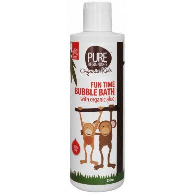 Pure Beginnings Organic Kids - Płyn do Kąpieli z Bąbelkami i Organicznym Aloesem 250ml
