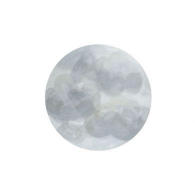 Toddlekind - Mata Ochronna Podłogowa Okrągła Clean Wean Mat Ammil Clouds Grey