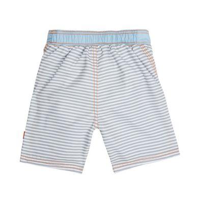 Lassig - Spodenki do Pływania z Wkładką Chłonną  Small Stripes UV 50+ 12m+