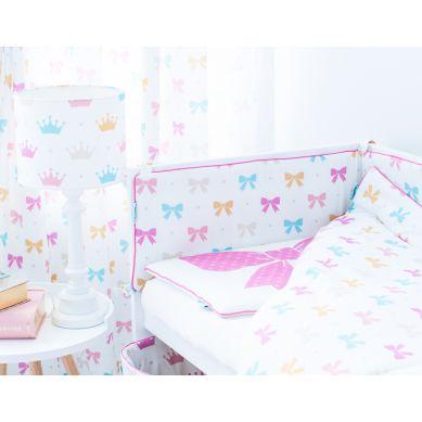 Lamps&co. - Pościel Dziecięca 100 x 135 Princess Kakardy