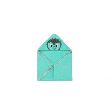 Zoocchini - Ręcznik dla Niemowlaka z Kapturem Jeż