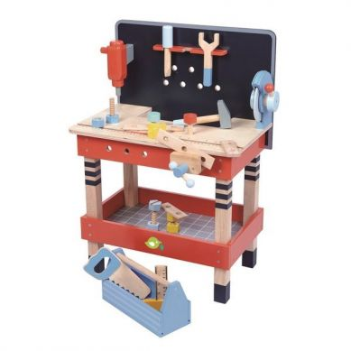 Tender Leaf Toys - Drewniany Warsztat Stolik 3+