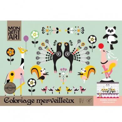 Mon Petit Art Kolorowanka Taniec Zwierząt