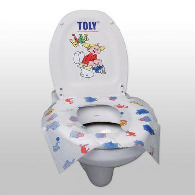 Toly - Jednorazowe Nakładki Sedesowe Kids 10 szt.