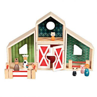 Egmont Toys - Drewniana Farma ze Zwierzątkami 3+