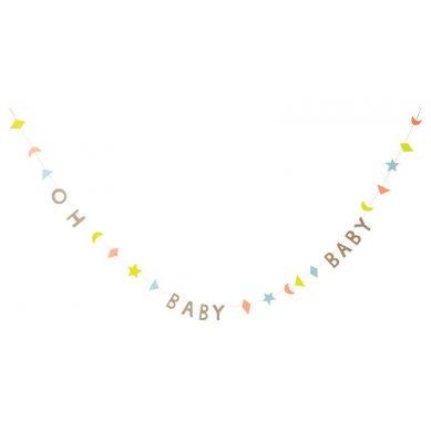 Meri Meri - Girlanda Mini Oh Baby