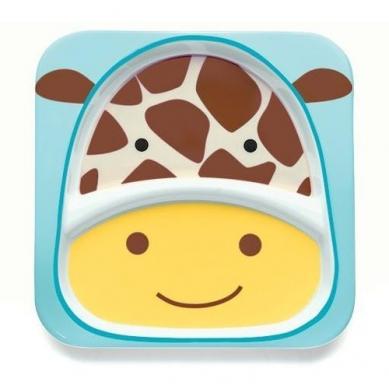 Skip Hop - Talerz Żyrafa