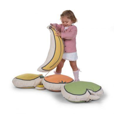 Childhome - Poduszka Banan Kanwas