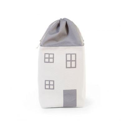 Childhome - Pojemnik na Zabawki 32 x 32 x 73 cm Domek