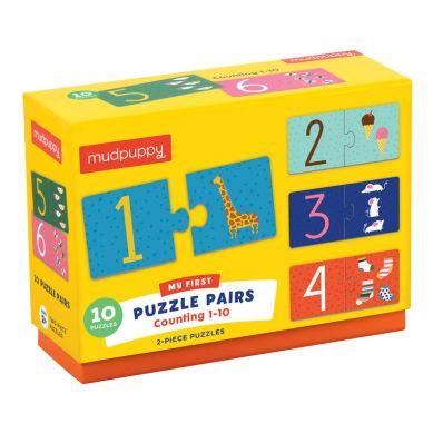 Mudpuppy - Puzzle do Nauki Liczenia od 1 do 10