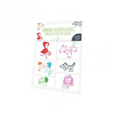 Zuzu Toys - Tatuaże dla Dzieci Postaci z Bajek