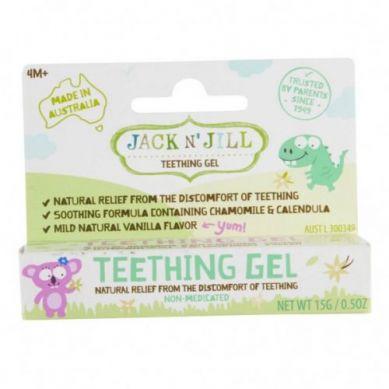 Jack N'Jill - Naturalny Żel łagodzący Ząbkowanie, 15g