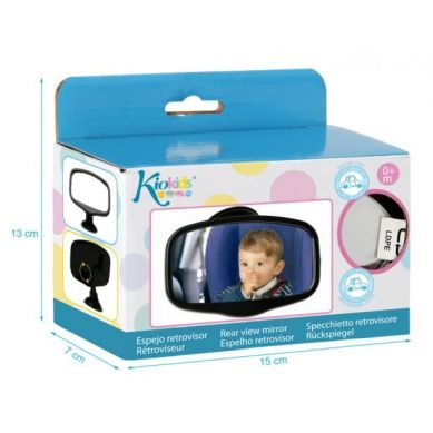 KioKids -  Prostokątne Lusterko Wsteczne do Obserwacji Dziecka