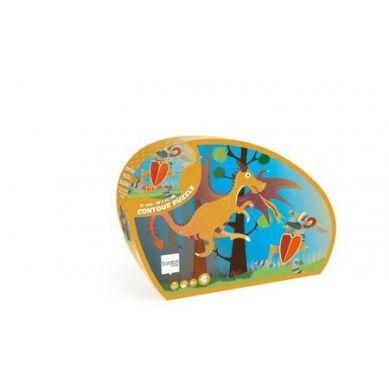Scratch - Puzzle Konturowe Smok 60 elem. 4+