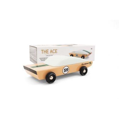 Candylab - Drewniany Samochód Ace Racer Ghost