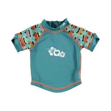 Close - Koszulka do pływania UPF50+ GREEN/GREEN Campervan L 18-24 miesięcy