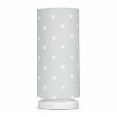 Lamps&co. - Lampka Nocna Lovely Grey Dots
