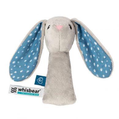 Whisbear - Grzechotka Króliczek Szary 0m+
