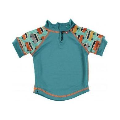 Close - Koszulka do pływania UPF50+ GREEN/GREEN Campervan M 12-18 miesięcy