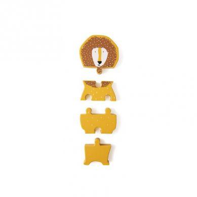 Trixie - Drewniane Puzzle Mr Lion
