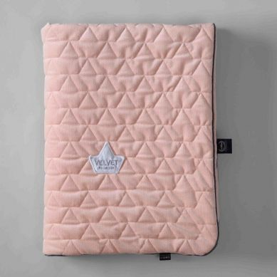 La Millou - Kocyk Velvet Collection 110 x 140 Powder Pink