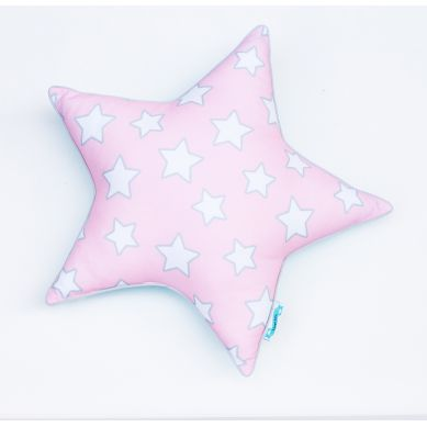 Lamps&co. - Poduszka Dwustronna Pink & Mint Stars STAR