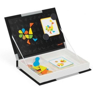 Janod - Magnetyczne Pudełko Kształty