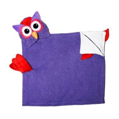 Zoocchini - Ręcznik z Kapturem Sowa