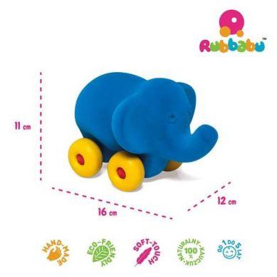 Rubbabu -  Słoń Pojazd Sensoryczny Niebieski