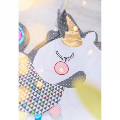 Bizzi Growin Unicorn Playmat sensoryczna mata do zabawy