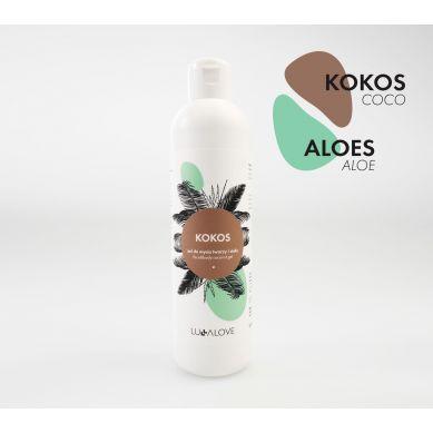 Lullalove - Holistyczny Kokosowy Żel do Twarzy i Ciała