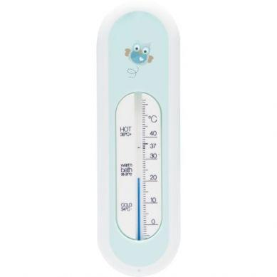 Bebe-Jou - Termometr Kąpielowy Miętowe Sówki