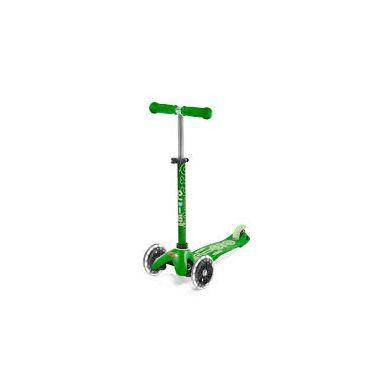 Micro - Hulajnoga Trzykołowa Mini Deluxe Green