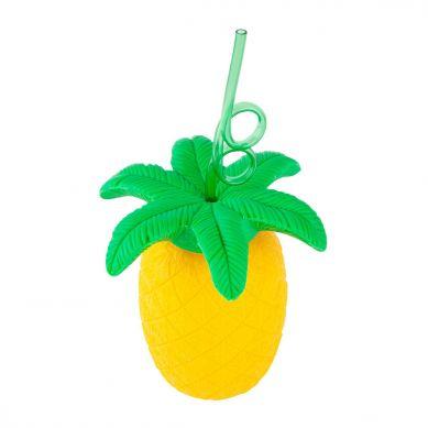 Sunnylife - Kubek ze Słomką na Plażę Pineapple