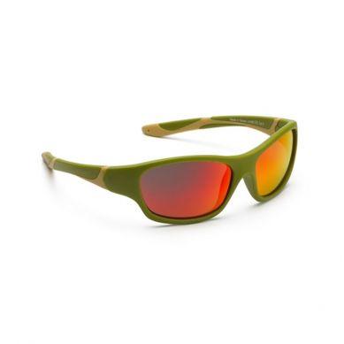 Koolsun - Okularki dla Dzieci Sport Army Green 3-8 lat