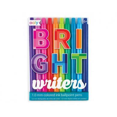 Ooly - Kolorowe Długopisy Bright Writers 10szt. 6+