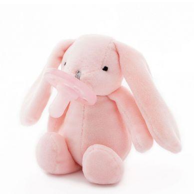 Minikoioi - Smoczek Uspokajający z Przytulanką Pink Bunny