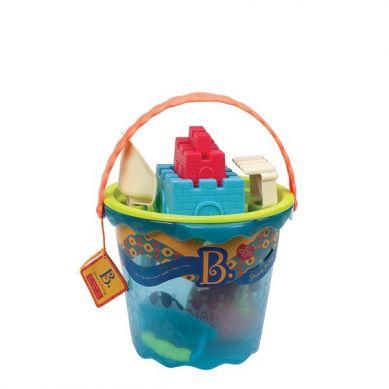 B.Toys - Olbrzymie Wiaderko z Akcesoriami do Piasku Niebieskie