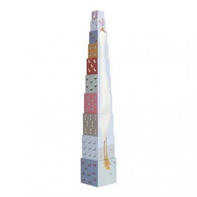 Little Dutch - Kartonowa Wieża Little Goose 18m+