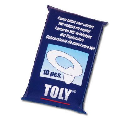 Toly - Jednorazowe Nakładki Sedesowe 10 szt.