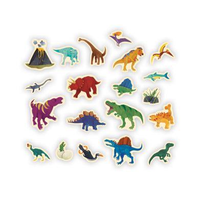 Mudpuppy - Zestaw Magnesów Dinozaury 20 Elementów