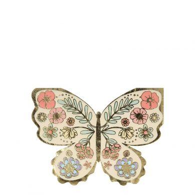 Meri Meri - Serwetki Motyl Kwiatowy