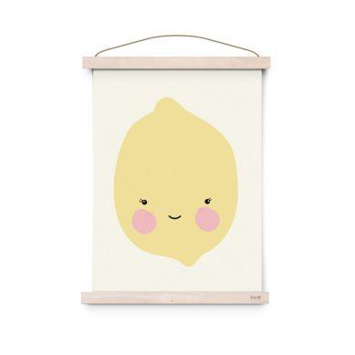 Eef Lillemor - Plakat Citron
